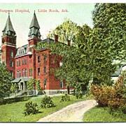 Postcard Physician and Surgeon Hospital Little Rock Arkansas AR