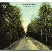Postcard Sweet Home Pike Little Rock Arkansas AR