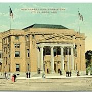 Postcard New Albert Pike Consistory Little Rock Arkansas AR