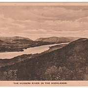 Hudson River in the Highlands New York NY Postcard