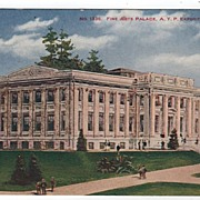 Fine Arts Palace Alaska Yukon Pacific Exposition Seattle WA 1909