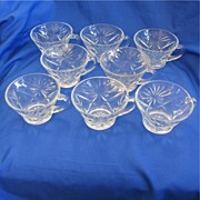 Set of Eight Oatmeal Cups