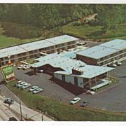Holiday Inn of Asheville NC North Carolina Vintage Postcard