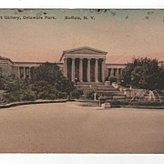 Albright Art Gallery, Delaware Park, Buffalo, New York Postcard