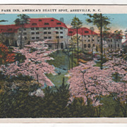 Grove Park Inn America's Beauty Spot Asheville NC North Carolina Vintage Postcard
