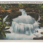 Falls Blue Ridge Association Grounds Blue Ridge NC North Carolina Vintage PC