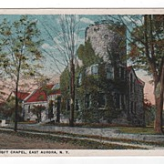 Roycroft Chapel East Aurora New York NY Postcard