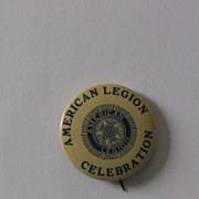 American Legion Celebration Pinback Button