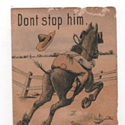 A. Hoefners Chief Soap trade card