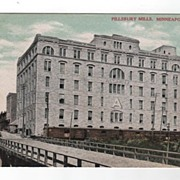 Pillsbury Mills Minneapolis Minnesota postcard