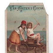 Van Houten's Cocoa, Weesp-Holland Trade Card