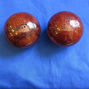 Wooden Balls Yosemite Salt and Pepper Shakers
