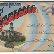 Souvenir Folder of Tennessee