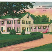 Colonial Manor Greenville Greene Co New York NY PC