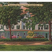 Kenwood Inn Haines Falls New York NY Postcard