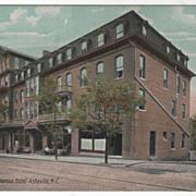 Swannanoa Hotel Asheville NC North Carolina Vintage Postcard