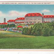 Grove Park Inn Asheville NC NorthCarolina in the Land of the Sky Vintage Postcard