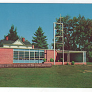 The Lutheran Church of the Good Shepherd Brevard NC North Carolina Vintage Postcard