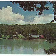 Transylvania Music Camp near Brevard NC North Carolina Vintage Postcard