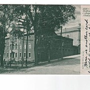Medical College Albany New York postcard