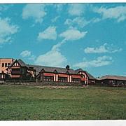 Lodge Restaurant Howes Cave New York NY Postcard