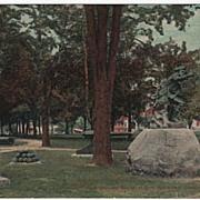 Park Gen Herkimer Statue Herkimer New York NY Postcard