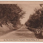 On Great Western Turnpike Cherry Valley New York NY PC