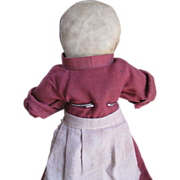 """Vintage Old Order Amish 12.5"""" Doll, Holmes County, OH"""