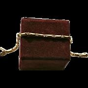 SALE 14K Solid Gold Ornate Link Bracelet Diamond-Cut Design