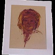 Portrait of a Woman Original Art Hauntingly Beautiful