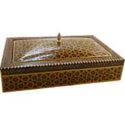 Mosaic Persian Middle Eastern Box & Cover