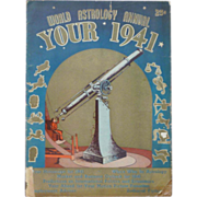 World Astrology Annual 1941 Magazine