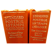 SALE Set  of 1960 Standard Postage Stamp Catalogue Books