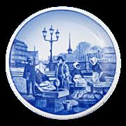 SALE Blue Fisketorvet Gammel Strand  Butter Pat Denmark