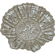 "Federal Glass Fluted Glass Bowl ""Pioneer"""