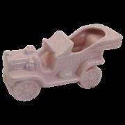 Pink Jalopy Vintage Car Planter