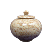 Soap Stone Sculptured Miniature Jar