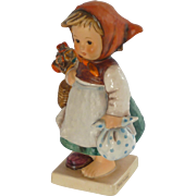 M.I. Hummel Little Girl with Flowers Figurine – 1960's