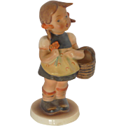 M.I. Hummel Sister Girl with Flowers Figurine – 1950's