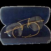 Old Vintage Eye Glasses GF Rimless