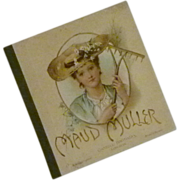 SOLD 1900s Sweet Maud Muller Poem Book