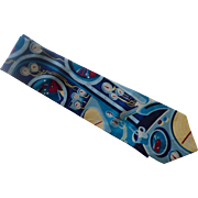Yellow Submarine Beatles Silk Dress Tie