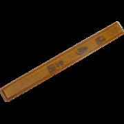 Wooden Single Chop Stick Pair Box