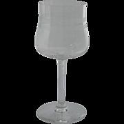 Cambridge Glass Stem Wine Glass