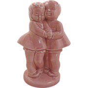 Two Best Friends Ceramic Pink Planter