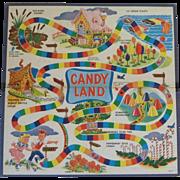 Vintage Original Game Candy Land Board
