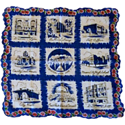 Mason City Iowa Centennial Handkerchief