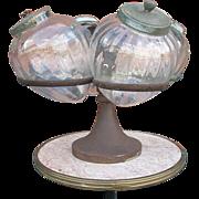 Italian Candy jar ' Carousel ' from an old Shop or Café