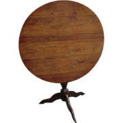 Small French 'Vendange' Table