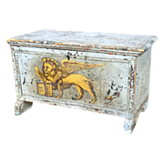 SOLD Old Venetian Candle Box from a Church.